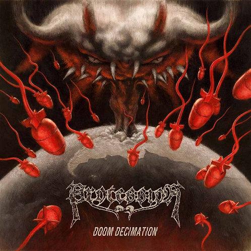"PROCESSION - Doom Decimation (Black Vinyl 12"")"