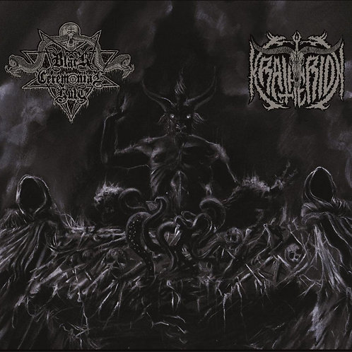 BLACK CEREMONIAL KULT / KRATHERION - Har​-​pa​-​jered / Abdicació.....(Split CD)