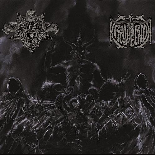 BLACK CEREMONIAL KULT / KRATHERION - Har-pa-jered / Abdicació.....(Split CD)