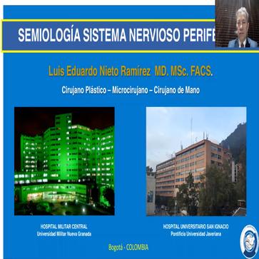 Conferencia de la importancia de un adecuado diagnóstico en las lesiones nerviosas-Congreso de Actualización en Semiología Médica