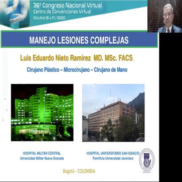 Invitación como Conferencista en el Congreso Nacional de Cirugía de Mano - Manejo de Lesiones Complejas en la Extremidad Superior