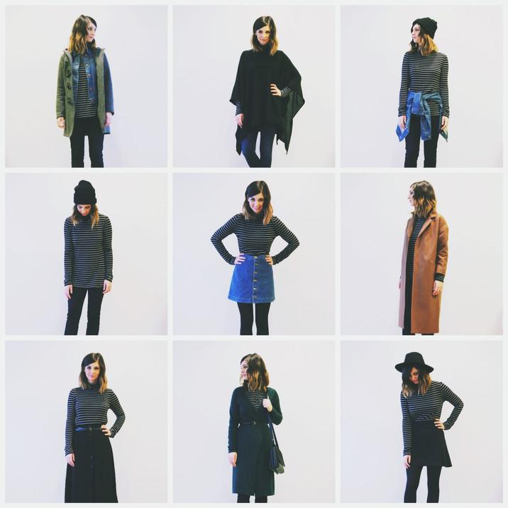 Capsule Wardrobe // 1 Item 9 Ways