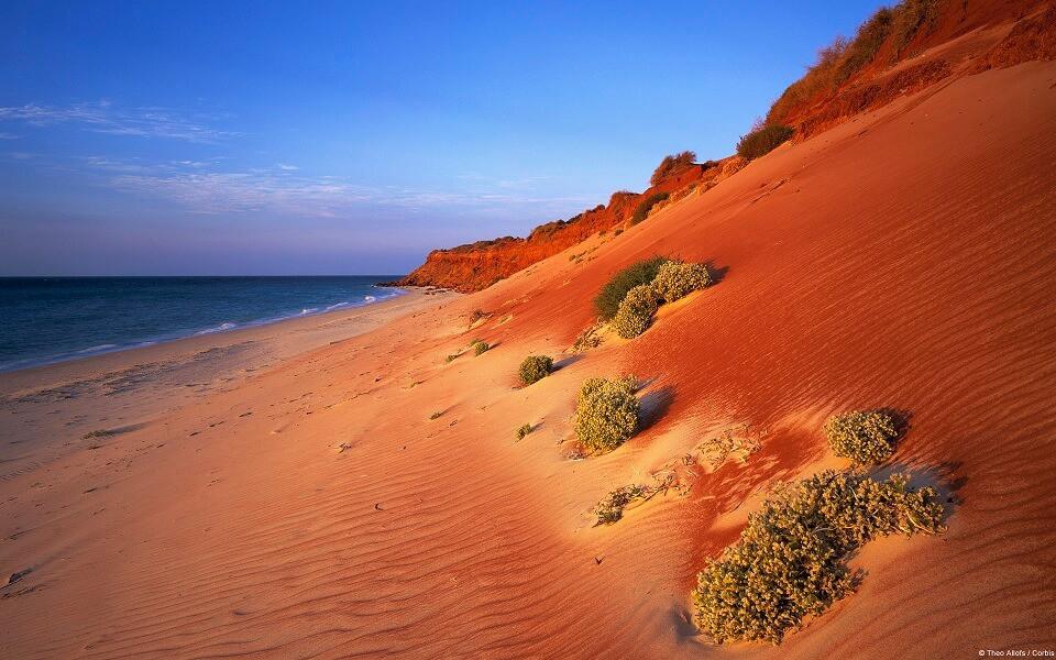 赤い砂丘(西オーストラリア)@いいかべ珪藻土ブログ