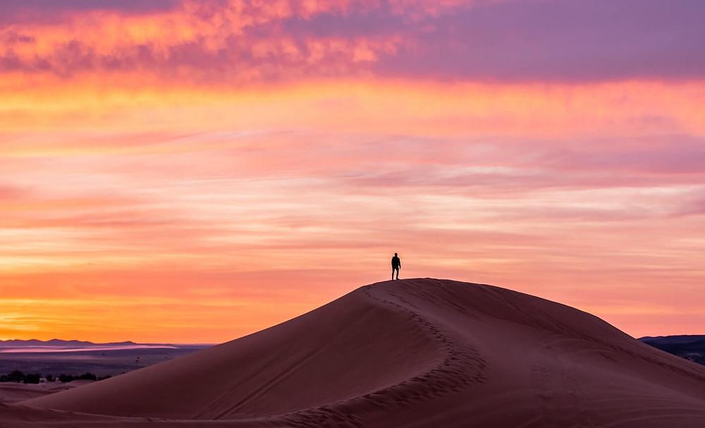 サハラ砂漠、アフリカ@いいかべ珪藻土ブログ