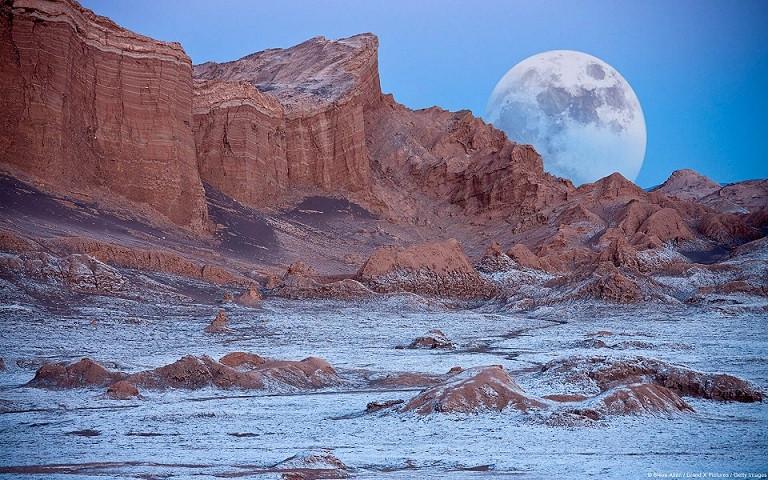 アタカマ砂漠の月の谷 (チリ)@いいかべ珪藻土ブログ