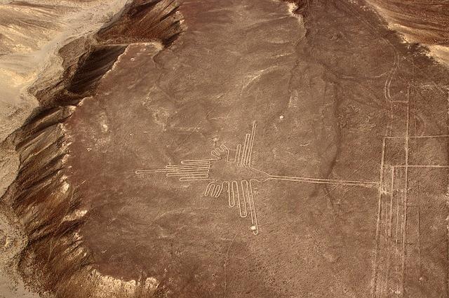 南米ペルー、ナスカの地上絵