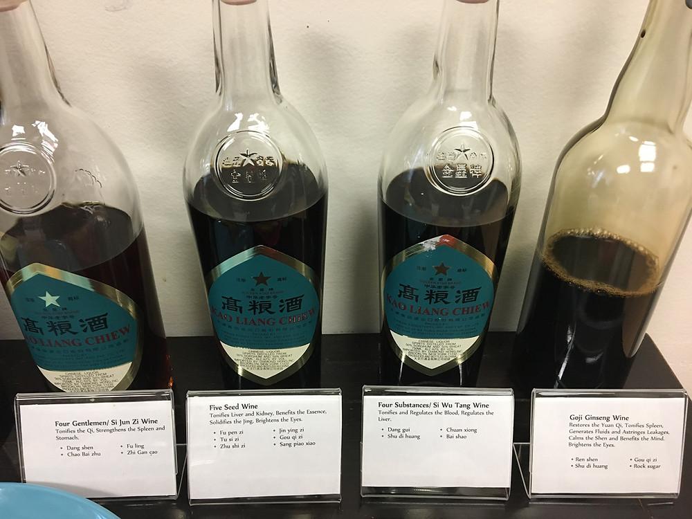 Chinese Herbal Tonic Wines