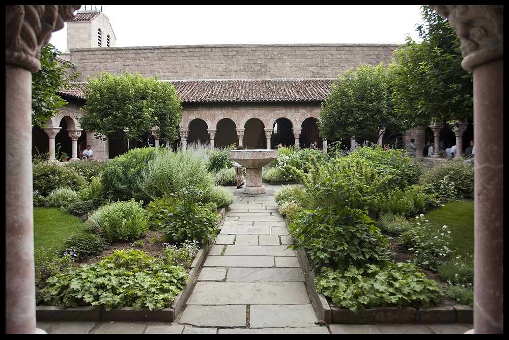 Herb Garden at The Cloisters, NYC