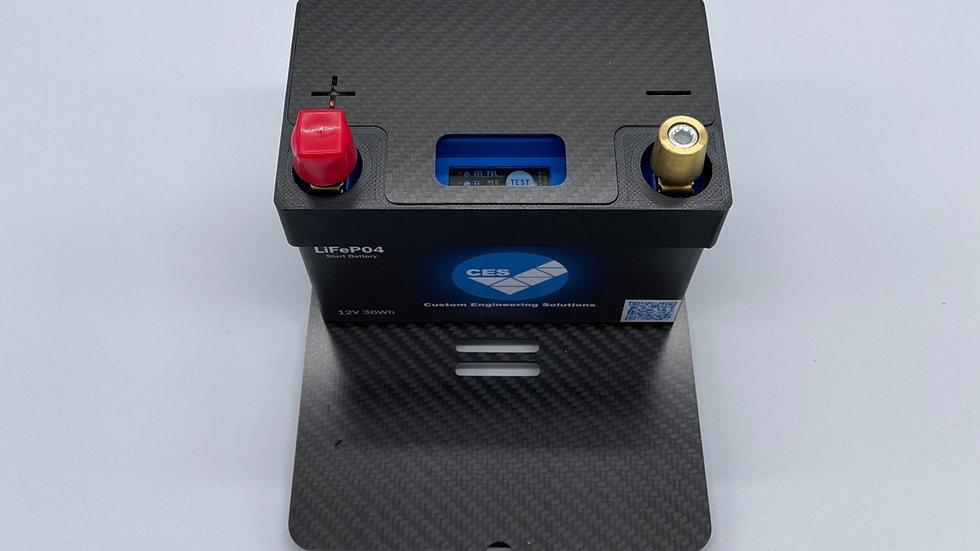 Leichtbau Batterie Halterung für Abarth 500/595/695