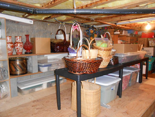 Create Storage Space! Crawl Space Storage Conversion