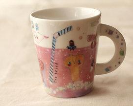 マグカップ /ピンクのサイダー