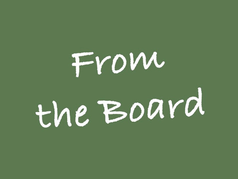 FROM THE BOARD: December 201