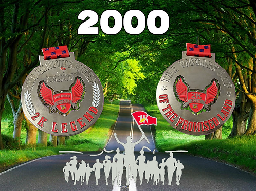 2018 2000 MILE MEDAL