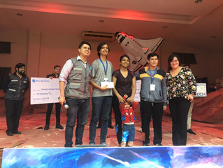 Great experience for ESPOL's student teams that participated in the NASA Space App Challenge in