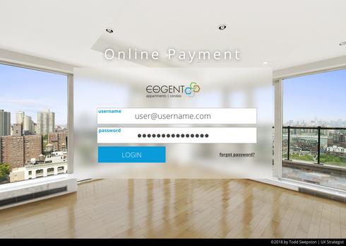 Eogent Login Page