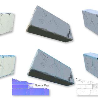 3D Block Environment Model
