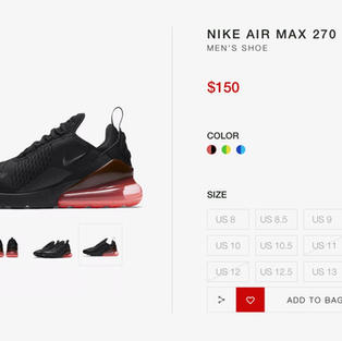 Nike Page Redesign