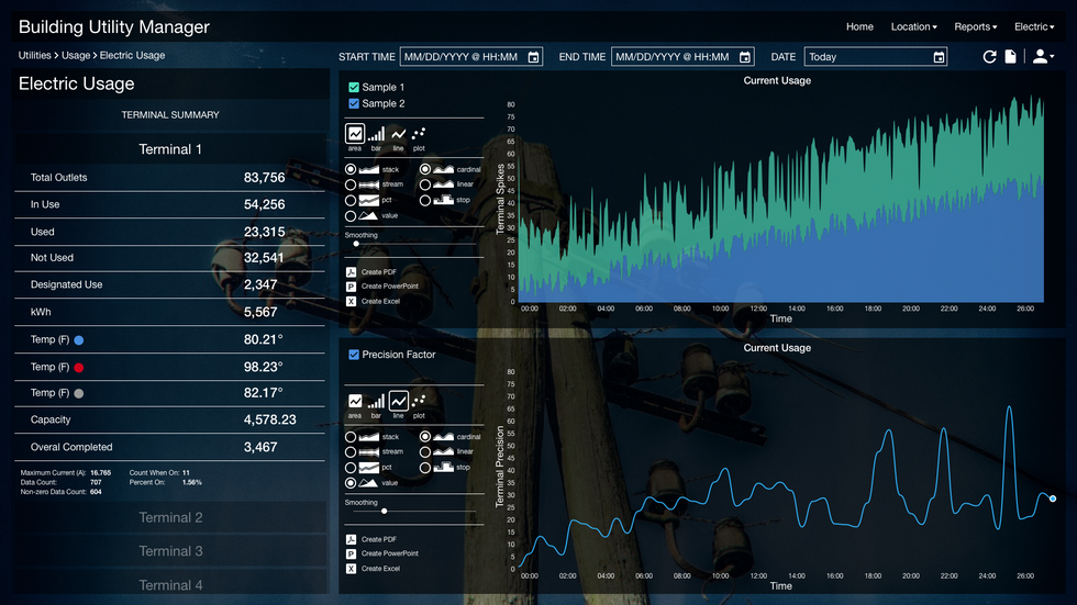Utility Manager Dashboard