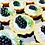Thumbnail: 10ks Tartaletka - Mák s citronem a ostružinou- 10 kusů