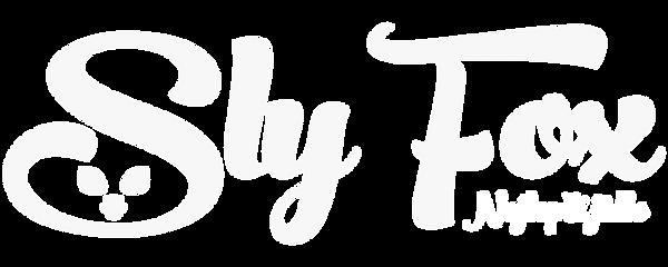 Sly Fox logo (Nejlepší jídlo) - bílá.png