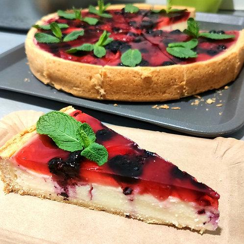Cheesecake (s lesním ovocem)