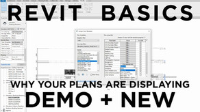Revit Basics: Why Plans Are Showing Demo and New