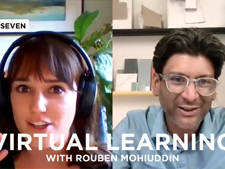 Adapting to Virtual Learning: Live with Rouben Mohiuddin