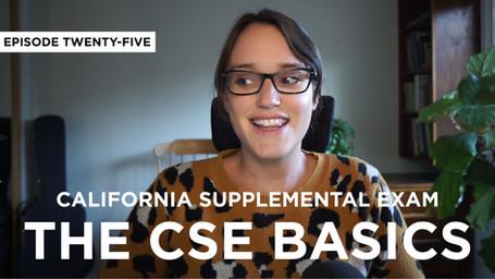 California Supplemental Exam: The Basics