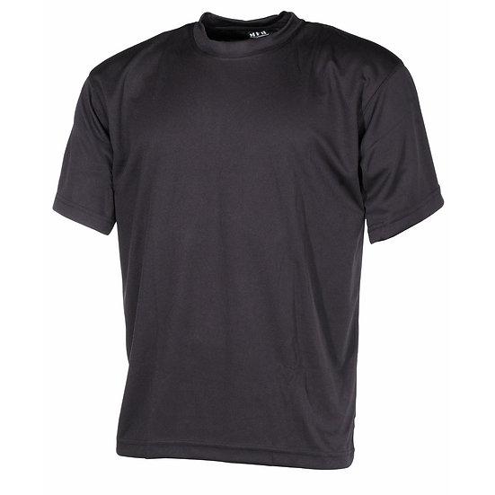 Tričko COOLMAX, černé