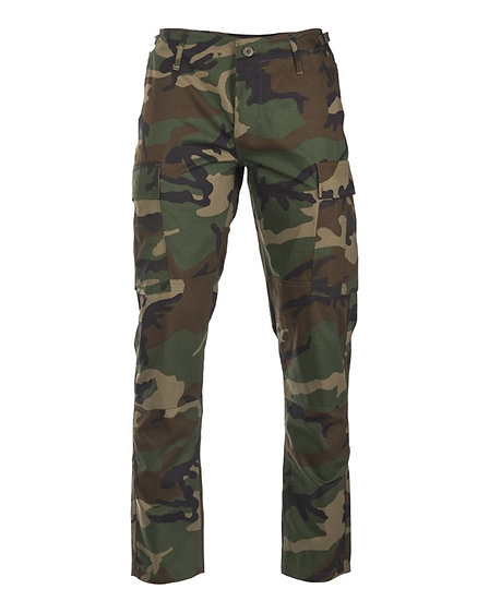 Kalhoty U.S. BDU SLIM FIT, woodland