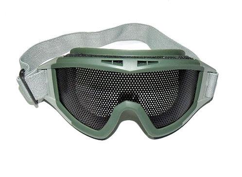 Brýle Taktické velké, síťka, oliv