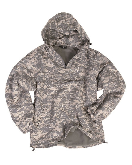 Anorak AT-digital, nepromokavý, fleece podšívka