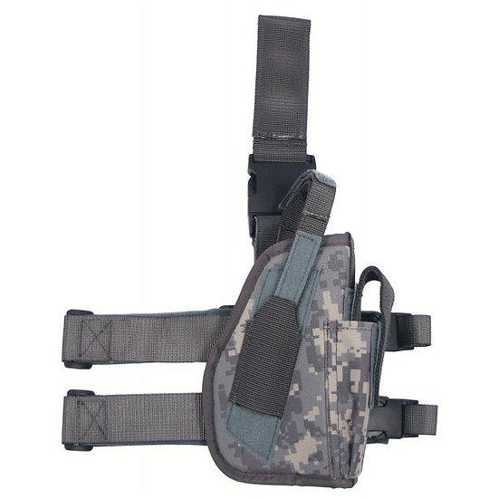 Pouzdro stehenní UNI, zbraň + zásobník, AT-digital