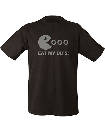 "Triko s potiskem ""Eat my BBs!"", černé"