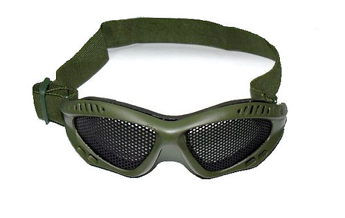 Brýle Taktické malé, síťka, oliv