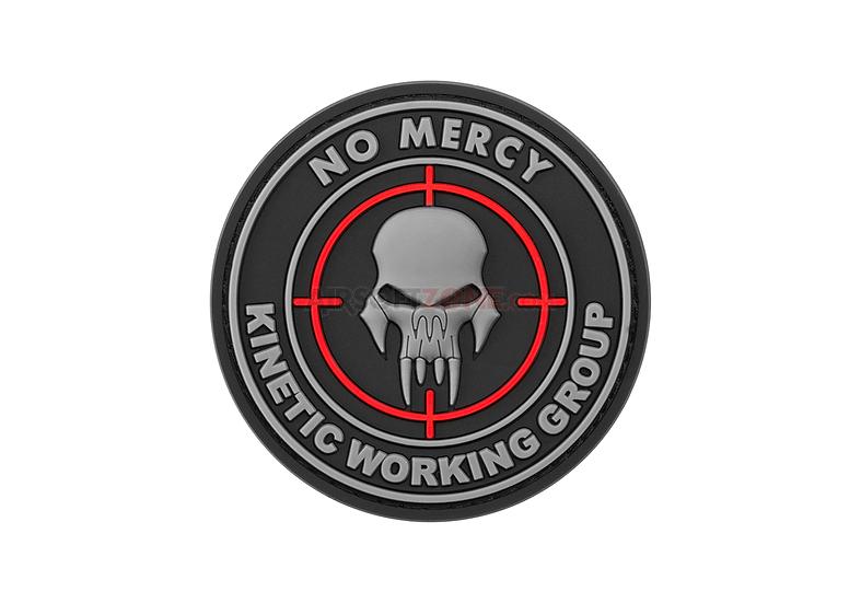 Nášivka NO MERCY, 3D
