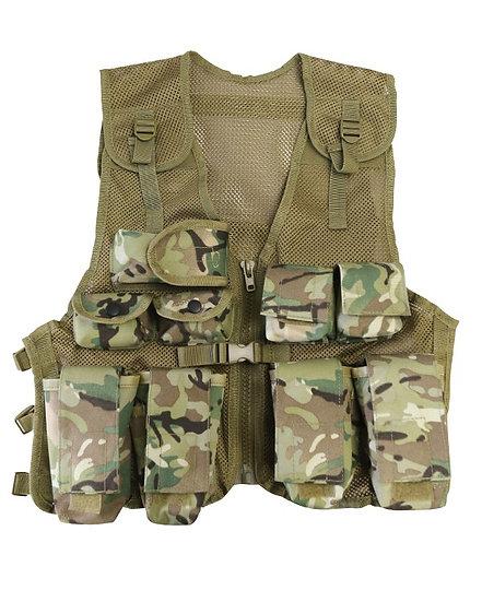 Dětská taktická vesta, lehká, MTP