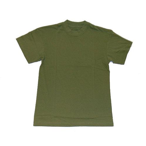 Tričko kr. rukáv, oliv, nové