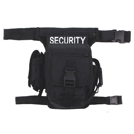 Stehenní kapsa SECURITY, černá