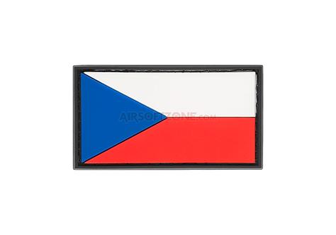 Nášivka malá vlajka ČR, 3D