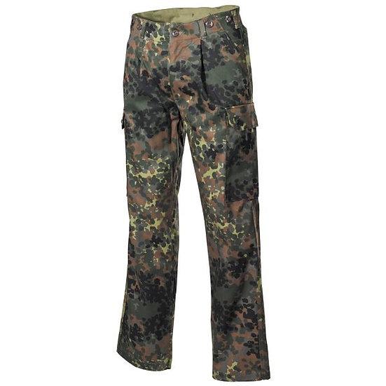 Kalhoty BW flecktarn