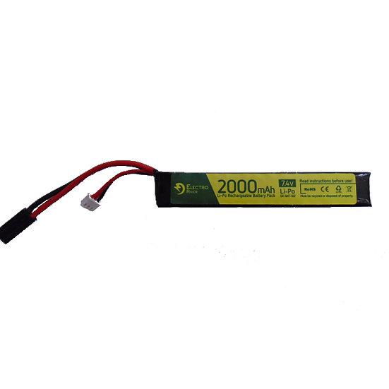 Baterie Li-Pol 7,4V/2000mAh, 15/30C