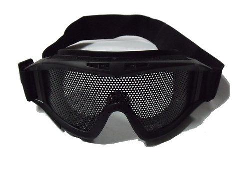 Brýle Taktické velké, síťka, černé