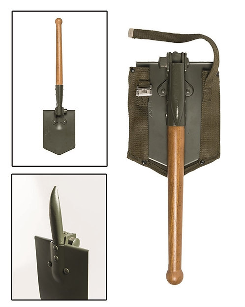 Skládací lopatka/motyčka BW + pouzdro