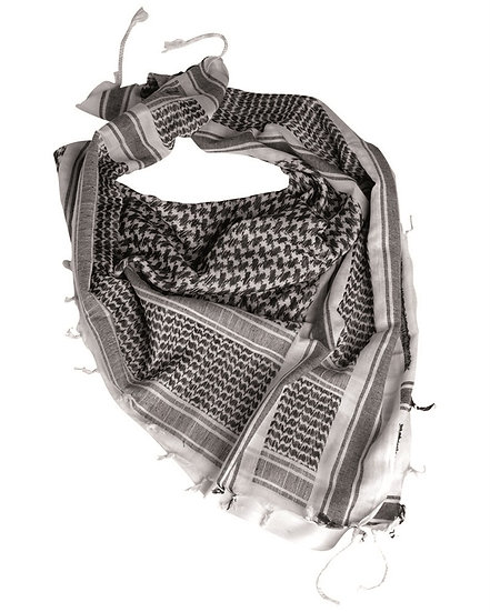 Šátek shemag, bílý
