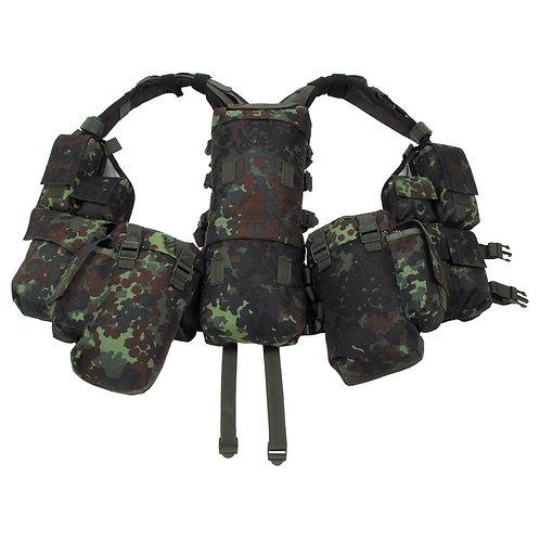 Taktická vesta SQUAD BW flek