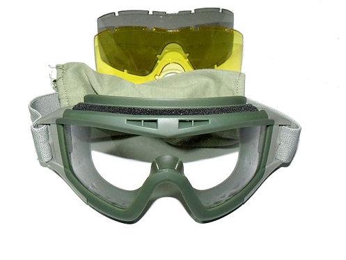 Brýle Taktické velké, oliv