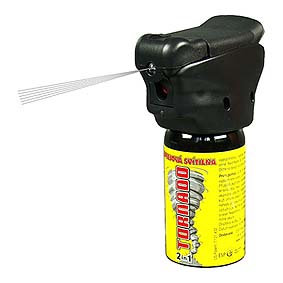 Pepřový sprej TORNADO, 50ml, 63ml