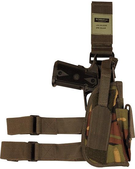 Pouzdro stehenní UNI, zbraň + zásobník, DPM