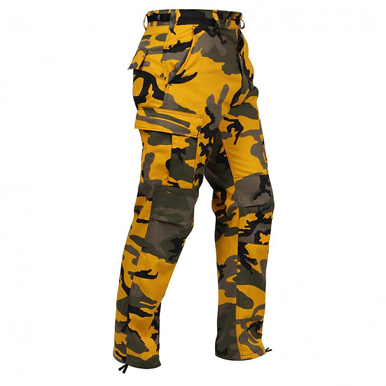 Kalhoty U.S. BDU, YELLOW